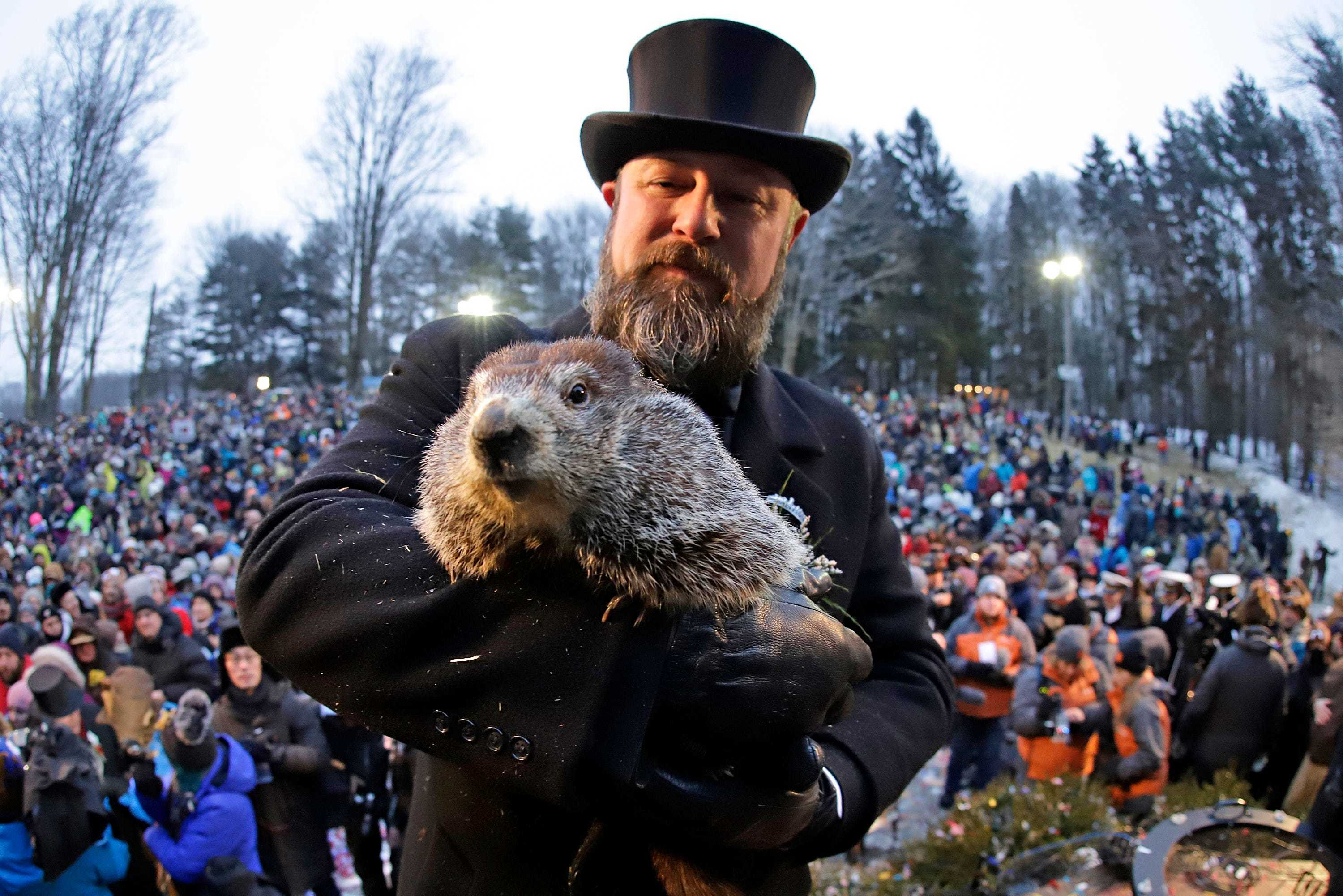 Groundhog Day 2020: No shadow means early spring!  Unless it doesn't