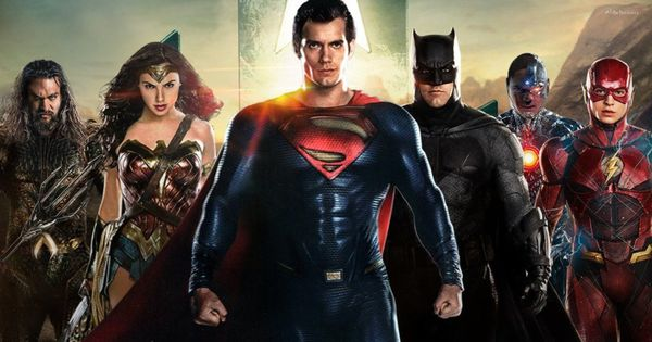 The Avengers Vs.  The Justice League movie