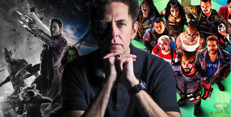 James-Gunn-with-Guardians-of-the-Galaxy-and-Suicide-Squad movie