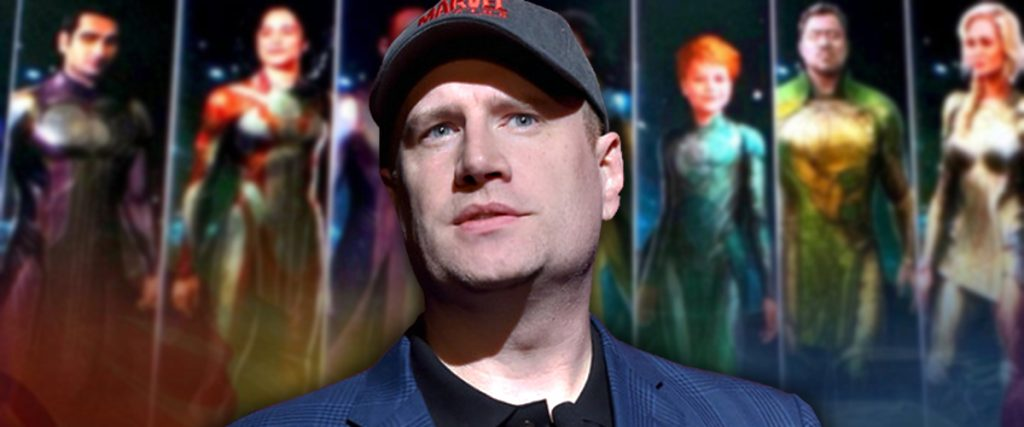 Kevin Feige and Eternals
