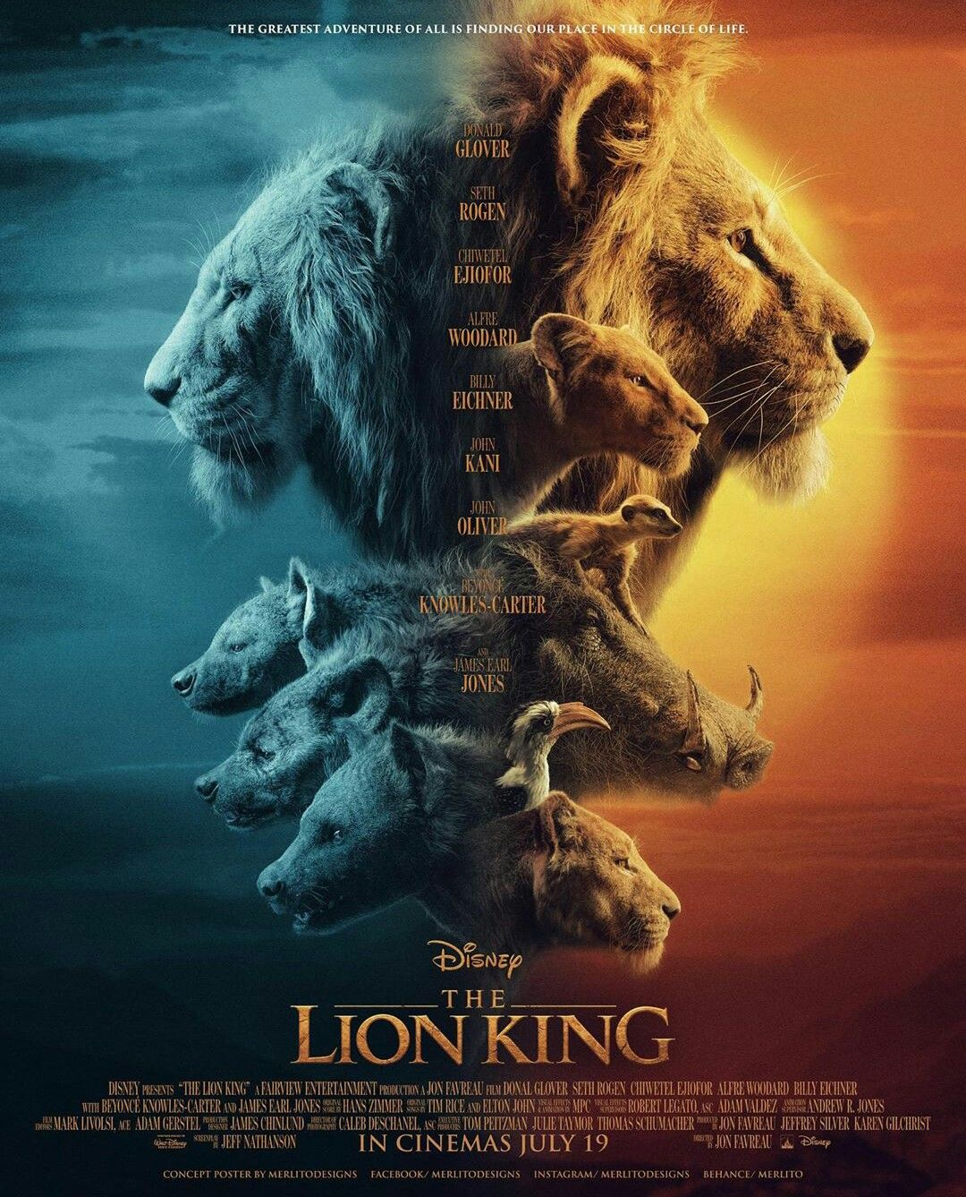 Review movie The Lion King childhood of many people