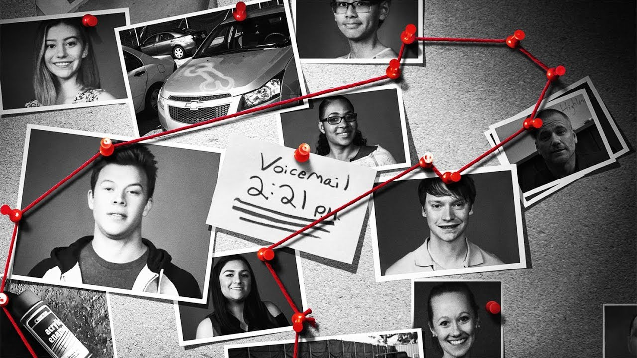 American Vandal Season 1 : a guy wrote on the car - What to write