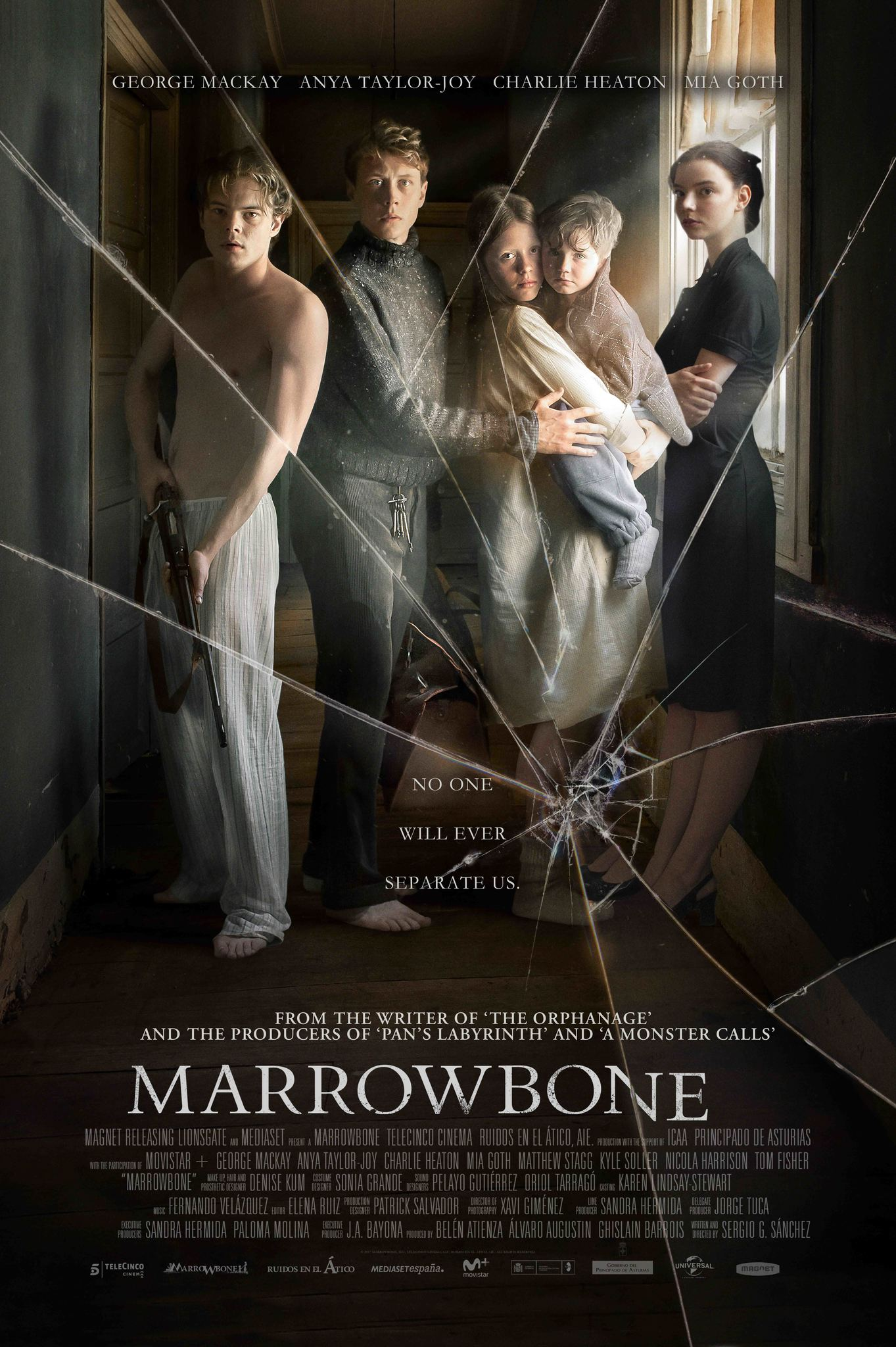 Review movie Marrowbone horror haunted mansion